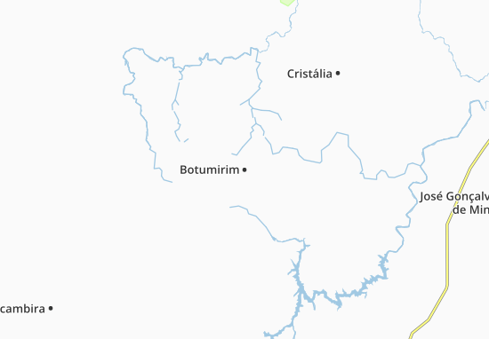 Botumirim Map