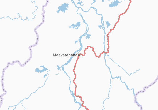 Carte-Plan Maevatanana