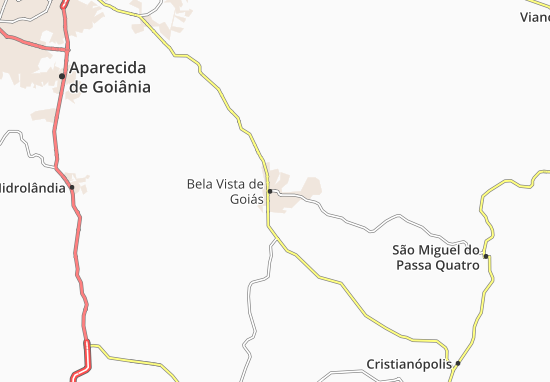 Bela Vista de Goiás Map