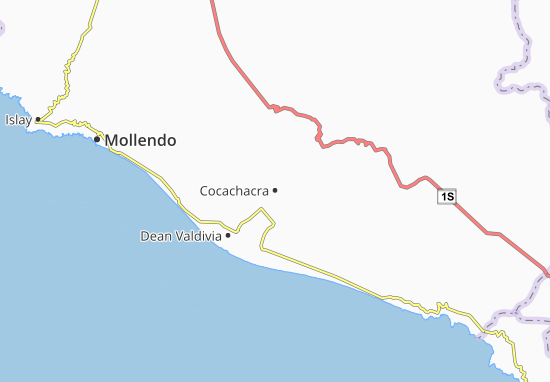 Cocachacra Map