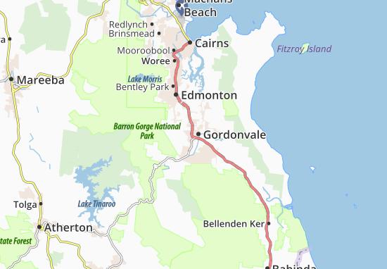 Gordonvale Map
