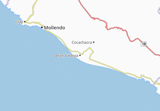 Dean Valdivia Map