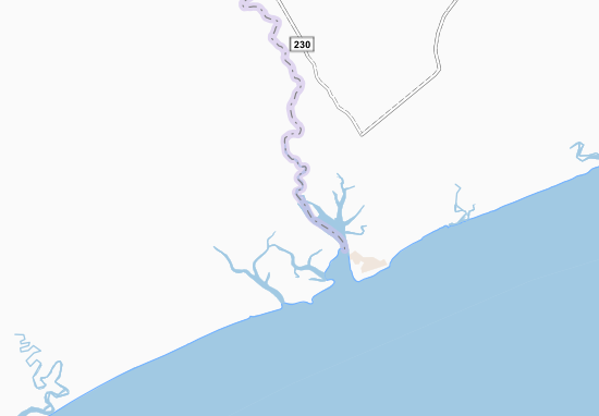 Bajone Map