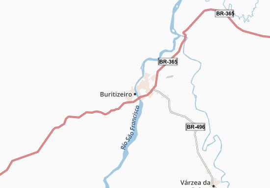Carte-Plan Buritizeiro
