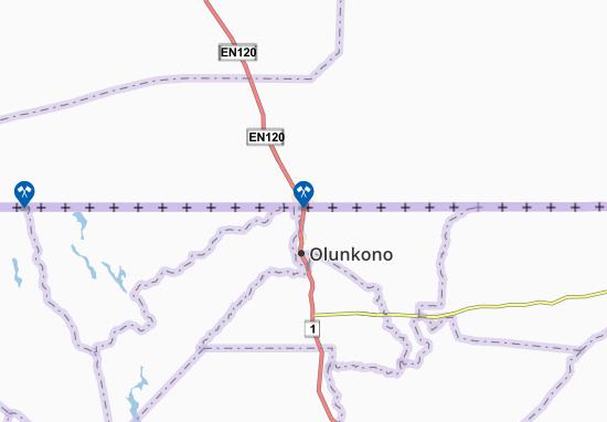 Carte-Plan Oshikango