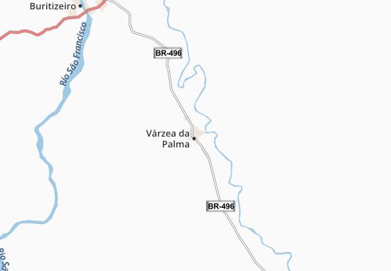 Carte-Plan Várzea da Palma