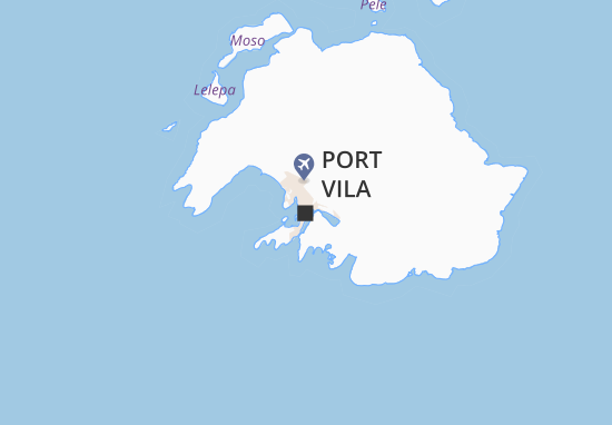 Carte-Plan Port Vila