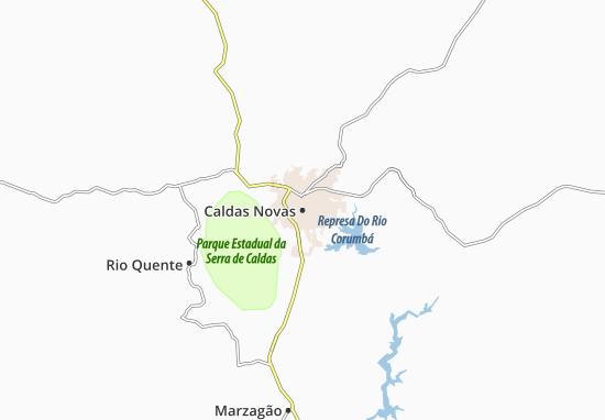 Mappe-Piantine Caldas Novas