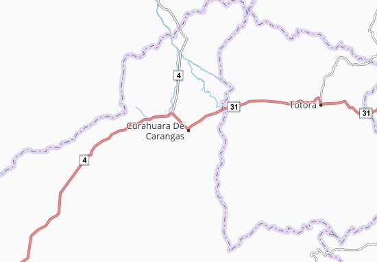 Curahuara De Carangas Map