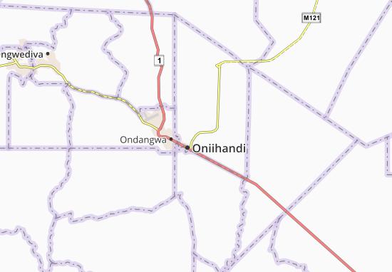 Mapa Plano Oniipa
