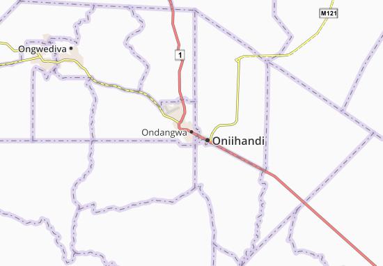 Mapa Plano Ondangwa