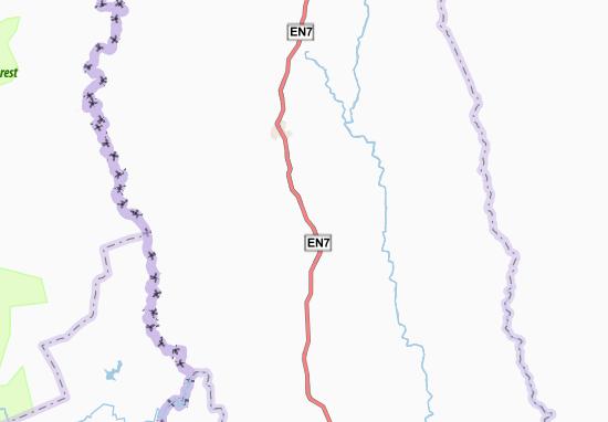 Kaart Plattegrond Bomo