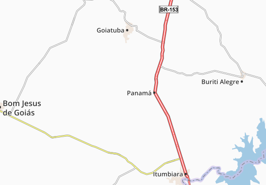 Carte-Plan Panamá