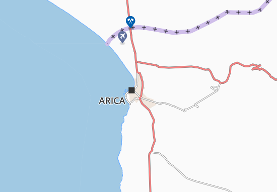 Carte-Plan Arica