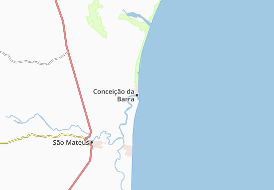 Mappe-Piantine Conceição da Barra