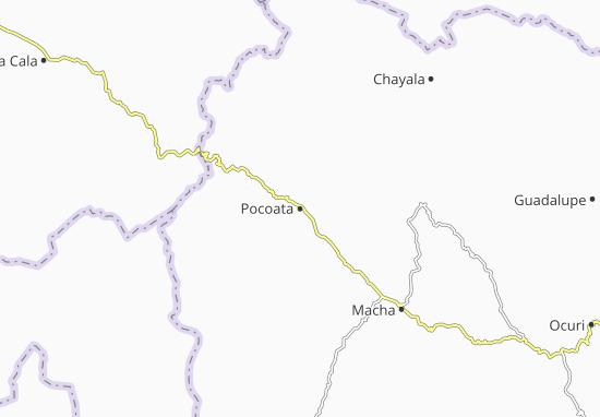 Pocoata Map
