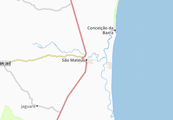 São Mateus Map