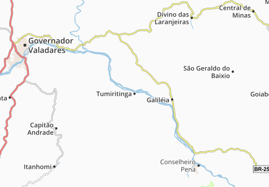 Tumiritinga Map
