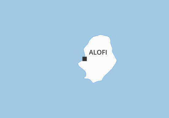 Mapas-Planos Alofi