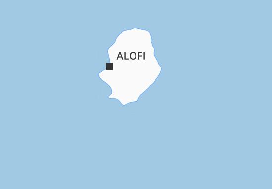 Mapa Plano Hakupu