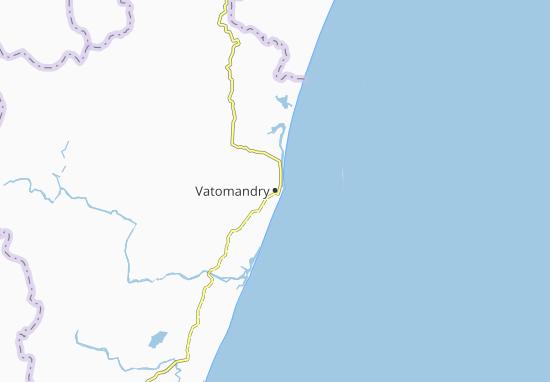 Carte-Plan Vatomandry