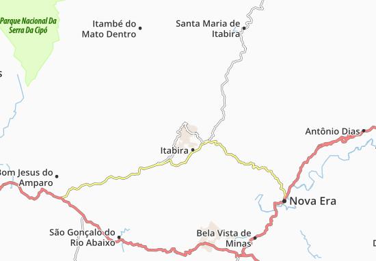 Itabira Map