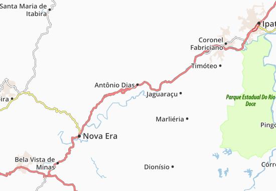 Carte-Plan Antônio Dias