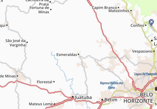 Esmeraldas Map