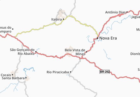Mapa Plano João Monlevade