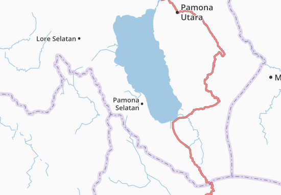 Carte-Plan Pamona Selatan