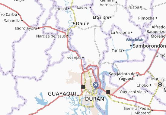 Mappe-Piantine Los Lojas