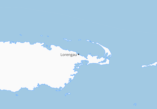 Mapa Plano Lorengau
