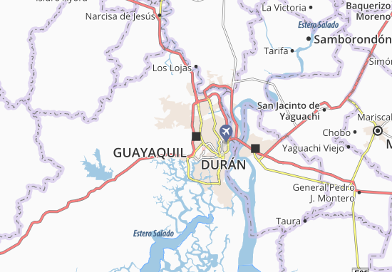 Guayaquil Map