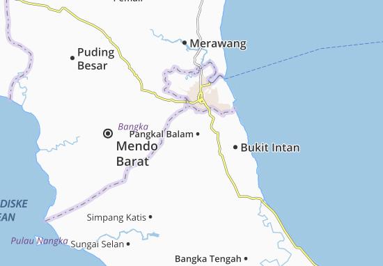Carte-Plan Pangkal Balam