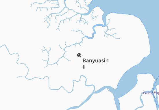 Banyuasin II Map