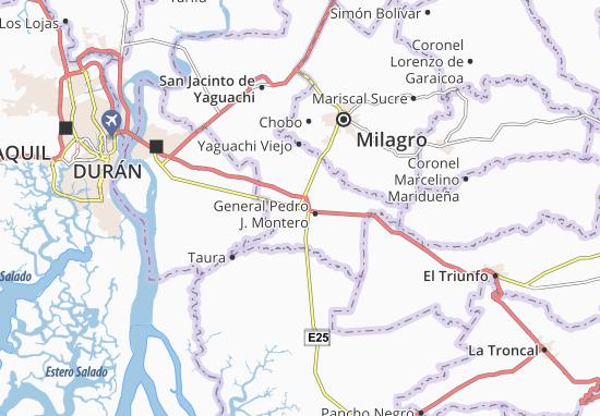 Karte Stadtplan Virgen de Fátima
