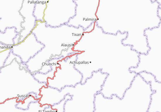 Kaart Plattegrond Pumallacta