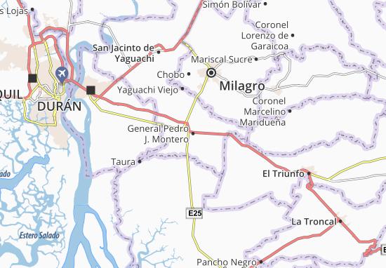 Mapas-Planos General Pedro J. Montero