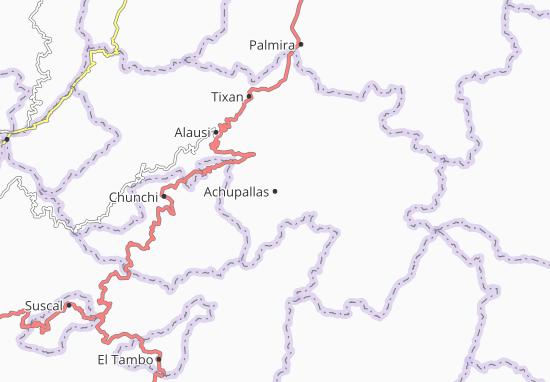 Achupallas Map