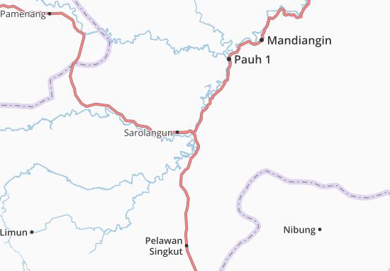Cartina Indonesia Dettagliata.Mappa Michelin Sarolangun Pinatina Di Sarolangun Viamichelin