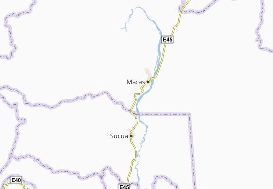 Carte-Plan Río Blanco