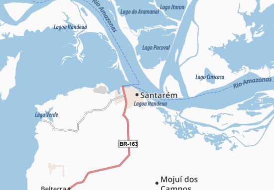 Mappe-Piantine Santarém