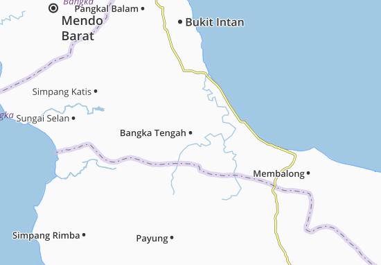 Mappe-Piantine Bangka Tengah