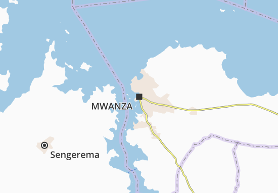 Mapa Plano Mwanza