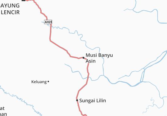Mappe-Piantine Musi Banyu Asin