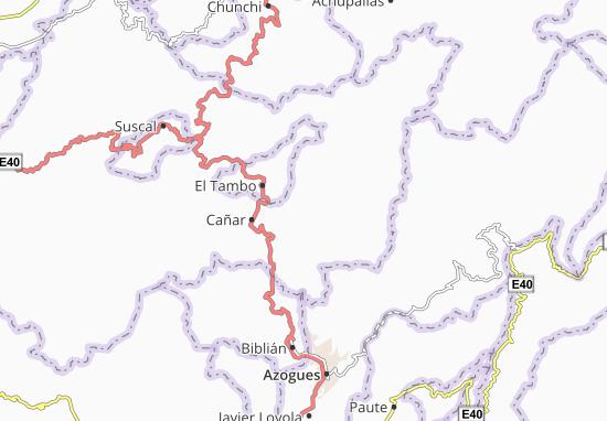 Karte Stadtplan Ingapirca