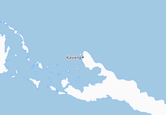 Kavieng Map