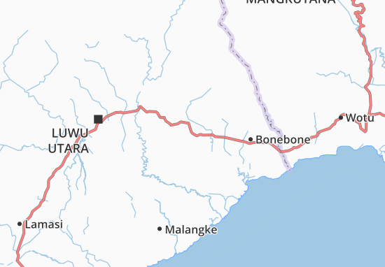 Sukamaju Map