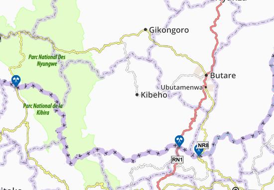 Mapa Plano Kibeho