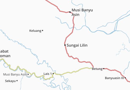 Mappe-Piantine Sungai Lilin